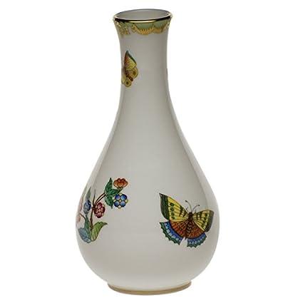 Amazon Herend Queen Victoria Vase Home Kitchen