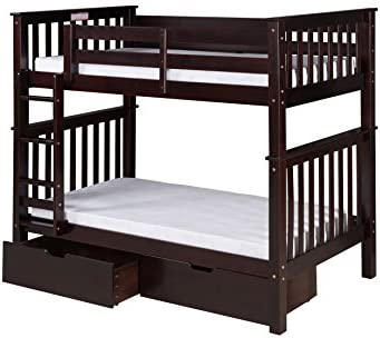 Camaflexi Santa Fe Bunk, Twin over Twin, Natural