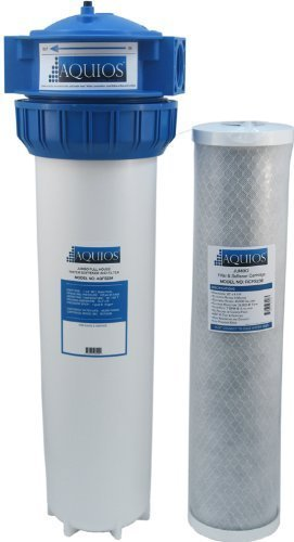 Aquios AQFS234L Jumbo Full House Water Softener & Filter System, VOC Reduction - New Model