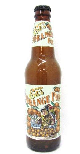 Capt's Eli's ORANGE POP, 12-Ounce Glass Bottle (Pack of 12)