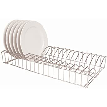 Vogue Stainless Steel Plate Racks 610mm Kitchen Holder Storage  sc 1 st  Amazon UK & Vogue Stainless Steel Plate Racks 610mm Kitchen Holder Storage ...