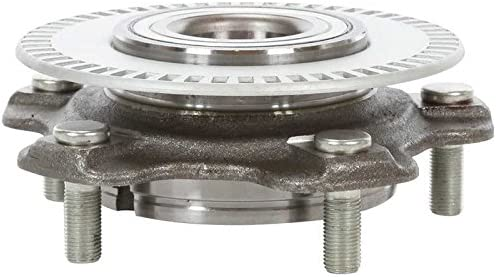 AutoShack HB613195 Wheel Bearing Hub Front Driver or Passenger Side Wheel Hub Bearing and Assembly 5 Lugs with ABS Replacement for 2002-2006 Suzuki XL-7 2001-2005 Grand Vitara