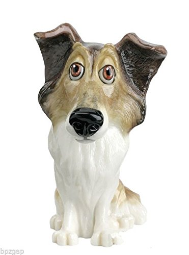 Figurine Collie Dog (Little Paws Ella the Rough Collie Dog Figurine)