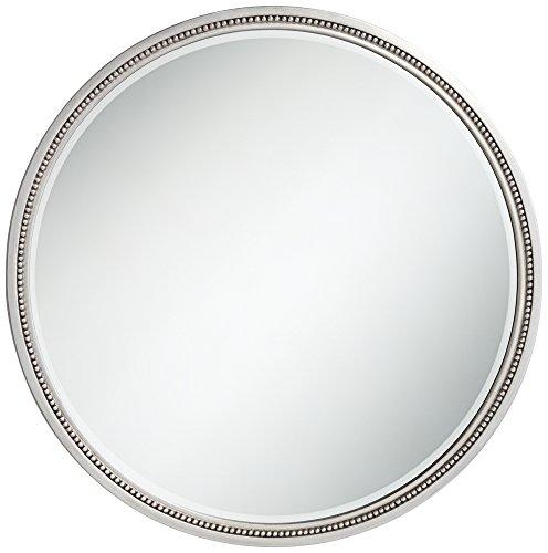 Park Round Mirror (Lorraine Silver 33