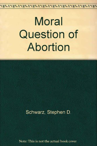 do all arguments about abortion come down to the question of what is the moral status of the fetus Conscience and the moral status of the fetus by christopher spewock within abortion, bioethics april 3rd, 2014 the american congress of obstetricians and.