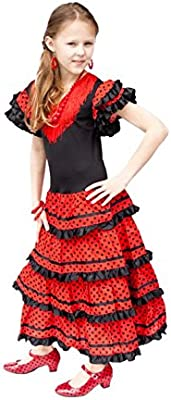 La Senorita Vestido Flamenco Sevillana Español Traje de ...