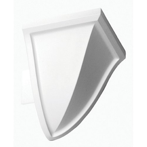 Focal Point Moulding - Focal Point 21620 4 1/8-Inch Quick Clips System A Outside Corner Block 3-Inch by 3-Inch by 3 1/2-Inch, White