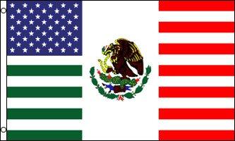 Amazoncom X Feet USA Mexico Friendship Traditional Flag - Usa and mexico