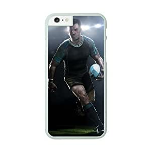 Rugby Image On The iPhone 6 White Cell Phone Case AMW896885