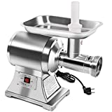Tangkula Electric Meat Grinder, Stainless Steel True 1HP No #22 Commercial Sausage Maker