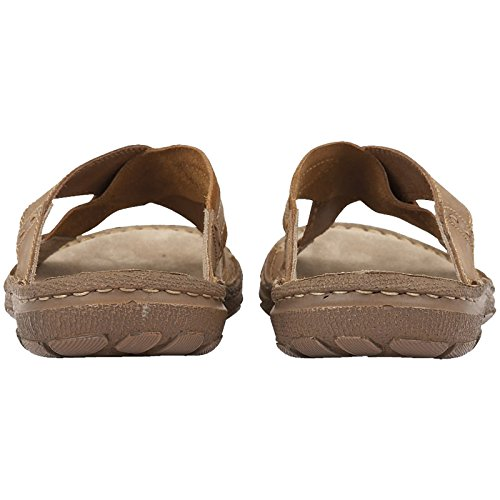Lotus Mens Murdock Brown Leather Cross Over Mule Sandals -UK 7 (EU 41)