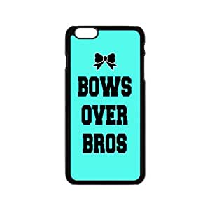 Bows Over Bros Black Phone Case for iPhone 6