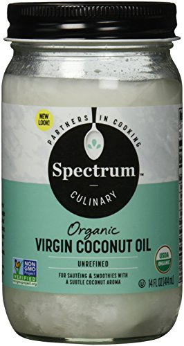 Spectrum Naturals - Coconut Oil Unrefined, 14 oz liquid