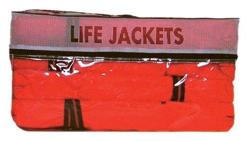 Kent Type II Adult Life Jackets with Clear Storage Bag, 4 Each - Ski Sun N