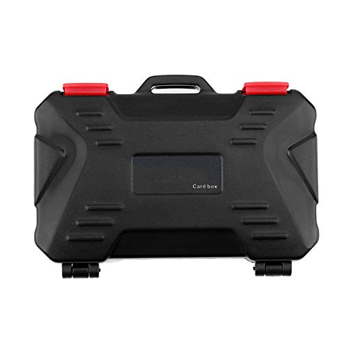 UTP Memory Card Case Holder for 4 CF 8 SD Card SDXC MSPD XD 12 TF T-Flash Storage Box Protector Waterproof Anti-Shock Drop IP67