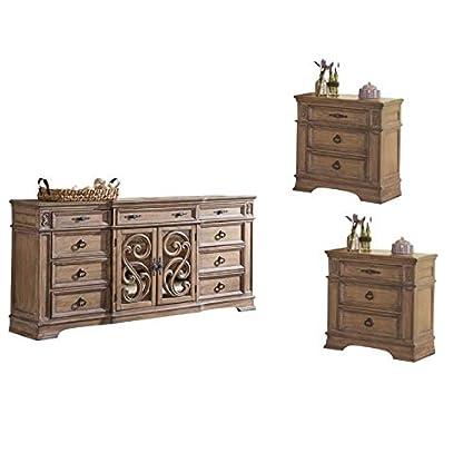 Amazon.com: Coaster Home Furnishings - Juego de 3 piezas ...