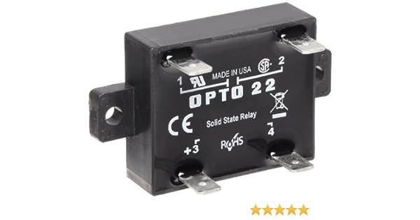 [DIAGRAM_4PO]  Opto 22 Z240D10 Z Model DC Control Solid State Relay, 240 VAC, 10 Amp:  Electronic Relays: Amazon.com: Industrial & Scientific | Opto 22 Ssr Wiring Diagram |  | Amazon.com