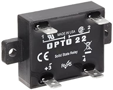opto 22 z240d10 z model dc control solid state relay 240 vac 10 rh amazon com