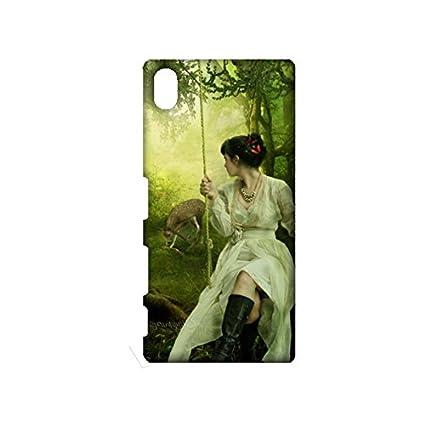 Amazon.com: Sony Xperia Z3 Plus Bosque Encantado teléfono ...