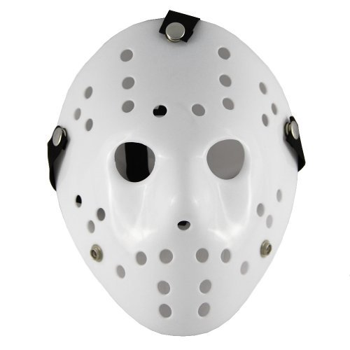 Friday the 13th Part3 Jason Hockey Halloween Deluxe HORROR MASK -