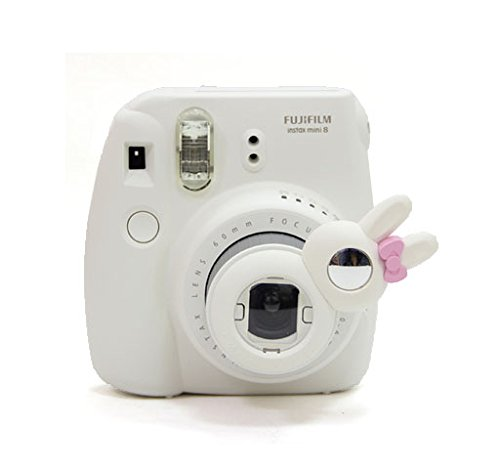 CAIUL Rabbit Style Instax Mini Close Up Lens Selfie Lens for Fujifilm Instax Mini 8 8+ 9 7s Camera and Polaroid PIC-300 - Kitty Hello Lens