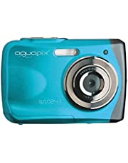Easypix 10012 Unterwasser Digitalkamera Aquapix W1024-I Splash in Eisblau