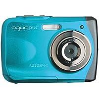 Easypix 10012 Unterwasser Digitalkamera Aquapix W1024-I Splash in Eisblau