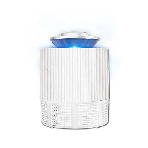 Sujing Electronic Pest Control Insect Control Fly Bug Zapper Mosquito Insect Killer LED Light Trap Lamp Pest Control (white) -