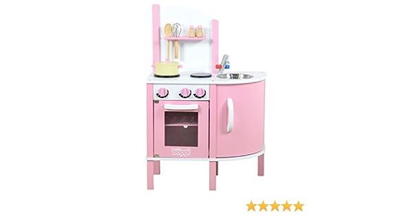 boppi® - Cocina de Madera para niños con 5 Accesorios