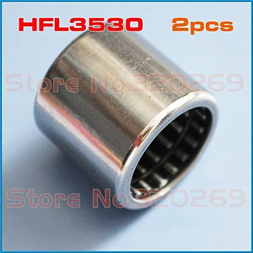 Ochoos 2pcs Single Direction Nadellager HFL3530 35x42x30mm OR HF3520 35x42x20mm one Way Needle Bearing Clutch FCB-30 for 35mm Shaft - (Diameter: HFL3530 35x42x30)