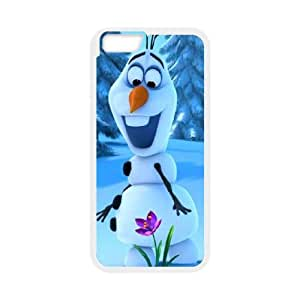 iPhone 6 Plus 5.5 Inch Cell Phone Case White Frozen Mude