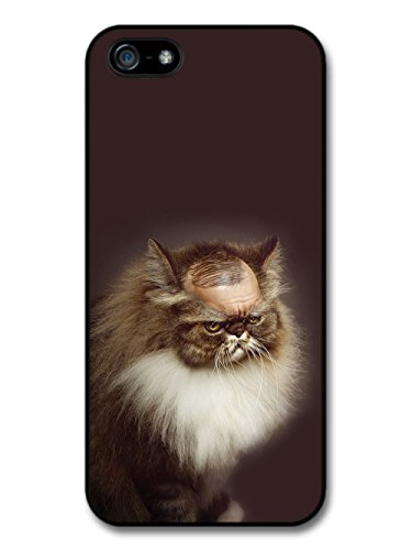 Bald Grumpy Funny Cat coque pour iPhone 5 5S