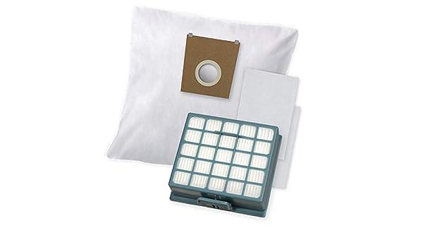 20 Bolsas de aspiradora 1 filtro adecuado para Ufesa 5518 AC: Amazon.es: Hogar