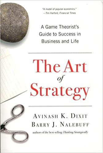 The Art of Strategy: A Game Theorists Guide to Success in Business and Life by Avinash K. Dixit Barry J. Nalebuff 2010-01-04: Amazon.es: Avinash K. Dixit Barry J. Nalebuff: Libros