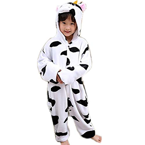 Kids Adults One-Piece Costumes Pyjamas for School Party Performance(white-125-for Height (138-146cm))