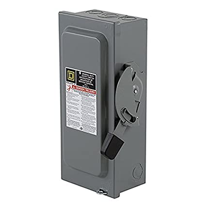 square d by schneider electric d222ncp 60 amp 240 volt two pole rh amazon com 60 Amp Fuse Box Wiring 60 Amp Fuse Block