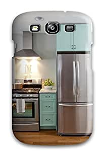 Excellent Galaxy S3 Case Tpu Cover Back Skin Protector Kitchen And Dining Space With Teal Cabinets And White Round Table