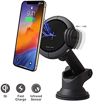 Istar Wireless Charging Car Phone Holder with 15W Quick Charger