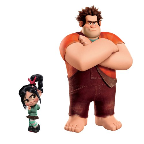 Roommates RMK2144SLM Wreck it Ralph Peel  and  Stick Giant Wall (Jumbo Wall Appliques)