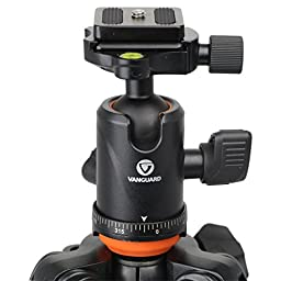Vanguard VEO 235AB Aluminum Travel Tripod with Ball Head