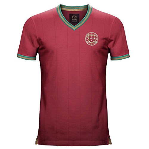 Vintage Portugal Home Soccer (Portugal Home Retro Shirt)