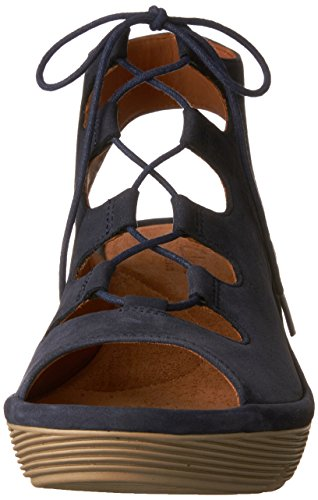 purchase cheap online Clarks Clarene Grace Womens Wedge Sandals Navy Nubuck 9 outlet great deals outlet the cheapest EQYNu