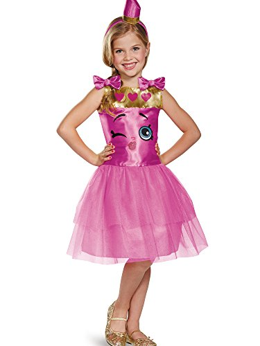 Lippy Lips Classic Shopkins The Licensing Shop Costume, Medium/7-8 -
