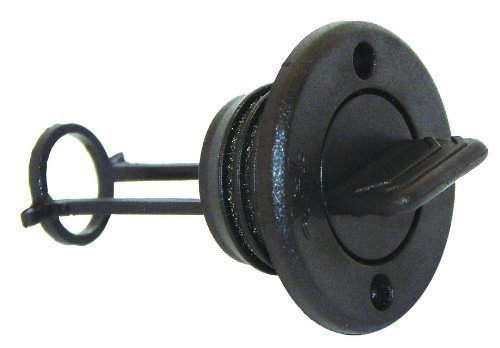 Invincible Marine Black Plastic Garboard Plug Kit by Invincible Marine