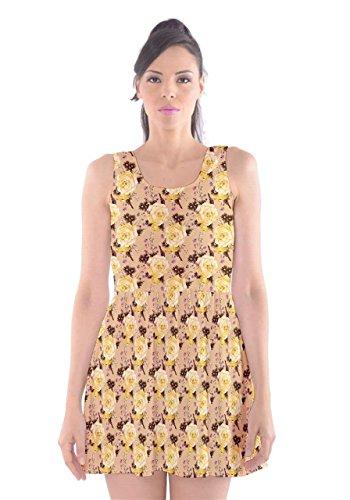 CowCow - Vestido - para mujer amarillo