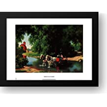 Big Moment 24x20 Framed Art Print by Detlefsen, Paul
