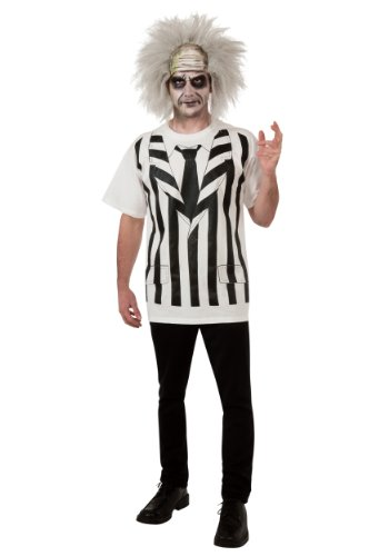 Rubies Mens Beetlejuice Alternative Theme Party Fancy Dress Costume, XL (up to 48) (Beetlejuice Plus Size Adult Mens Costume)