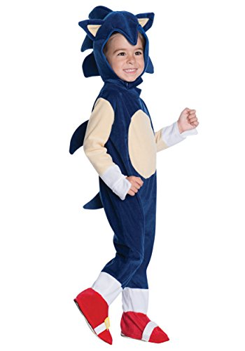 Rubie's Baby Boys' Sonic Romper Costume, Multi, 1-2 Years for $<!--$24.99-->