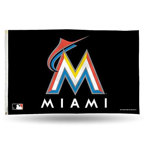 Miami Marlins MLB 3X5 Indoor Outdoor Banner Flag