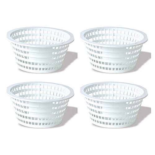 - Swimline Olympic ACM88 Replacement Swimming Pool Skimmer Basket White (4 Pack)
